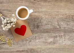 办公桌上的咖啡背景图片_8张
