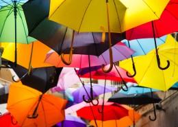 雨伞长廊图片_12张