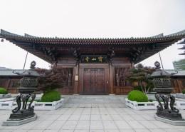 中国寺庙修建图片_21张