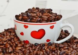 杯中的咖啡豆图片_13张