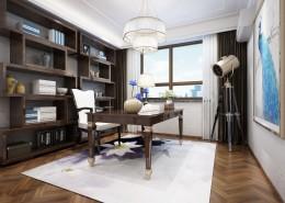 大氣的書房裝修設計圖片_8張