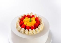草莓水果奶油蛋糕图片_14张
