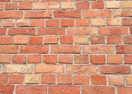 红砖堆砌成的墙图片_13张