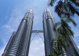 马来西亚吉隆坡石油双塔图片_15张