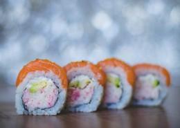 造型精美的寿司图片_9张