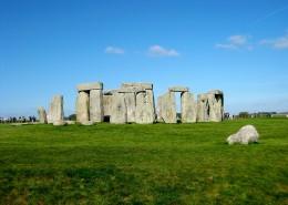 英国巨石阵图片_13张