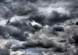 天空中的烏云圖片_15張
