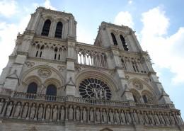 法国巴黎圣母院图片_14张