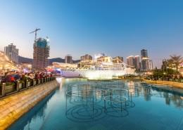 美麗的廣東深圳夜景圖片_11張