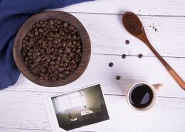 現磨咖啡和咖啡豆圖片_9張
