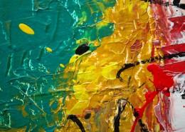 多彩的抽象繪畫圖片_11張