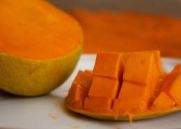 被切開的芒果圖片_10張
