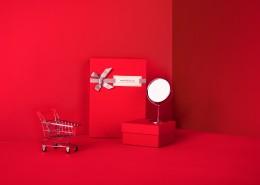 喜庆的红色礼品盒图片_15张