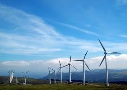 高大年夜的风力发电机图片_13张