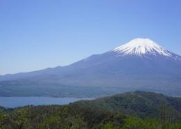 美丽的富士山图片_13张