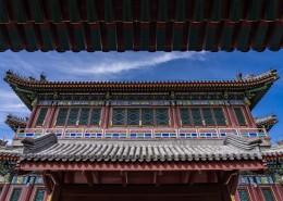 北京頤和園古建筑風景圖片_9張