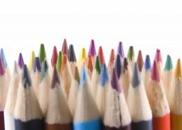 一大把彩色鉛筆圖片_10張