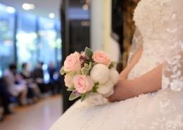 新娘手中的鮮花圖片_10張