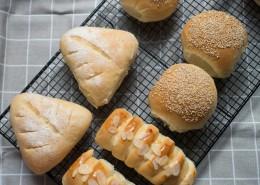健康美味的手工面包圖片_10張