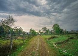 印度尼泊尔博卡拉乡村田野风景图片_10张