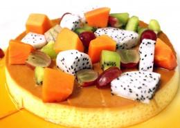 各种各样的水果蛋糕图片_11张