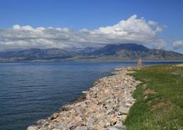 美麗的新疆賽里木湖風景圖片_9張