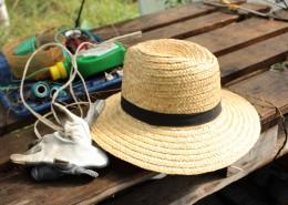 夏季出游必備的遮陽草帽圖片_14張
