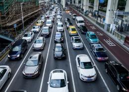 拥堵的城市交通图片_15张