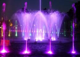 美妙的音乐喷泉图片_14张