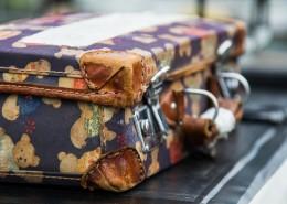老式的行李箱图片_10张