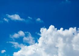 藍天白云美麗風景圖片_10張
