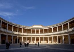 西班牙阿尔罕布拉宫建筑风景图片_11张