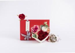 七夕情人节玫瑰花礼盒图片_12张