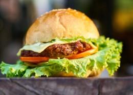 噴香的漢堡圖片_13張