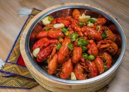 美味好吃的麻辣小龙虾图片_16张