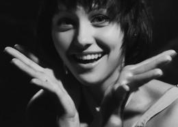 美女的黑白肖像攝影圖片_13張