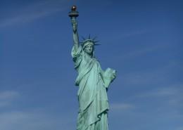 美国纽约自由女神像图片_15张