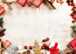 圣誕禮物背景素材圖片_12張