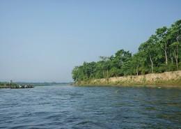 尼泊尔奇特旺国家公园河流自然风景图片_9张
