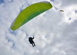 惊险刺激的滑翔伞运动图片 _15张