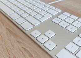 白色的鍵盤圖片_13張