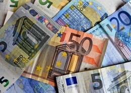 欧元纸币图片_14张