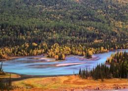 新疆喀納斯自然風景圖片_15張