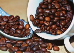 杯中的咖啡豆图片_14张