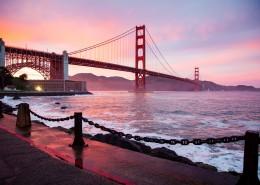 美国旧金山金门大桥风景图片_13张