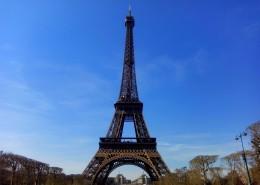 法国巴黎埃菲尔铁塔建筑风景图片_13张