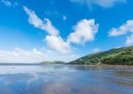 夏日海滨自然风景图片_9张