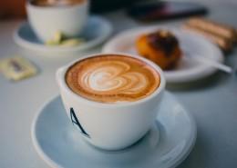 香濃的咖啡拉花圖片_12張