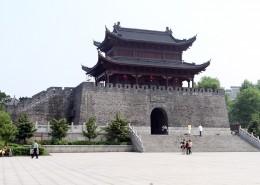 湖南岳阳楼人文风景图片_9张