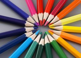 漂亮的彩色铅笔图片_9张